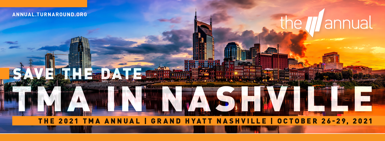 The 2021 TMA Annual in Nashville, Tennessee